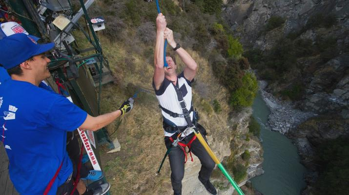 Bungee Jumping-Queenstown-Canyon Swing from 109 metres over Shotover Canyon-6