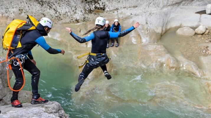 Canyoning-Gorges du Verdon-Canyon de la Clue de Saint Auban dans les Gorges du Verdon-2