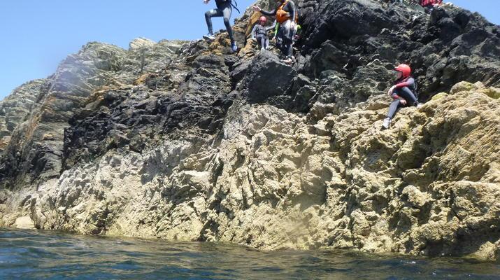 Coasteering-Conwy-Coasteering off the coast of Conwy-1