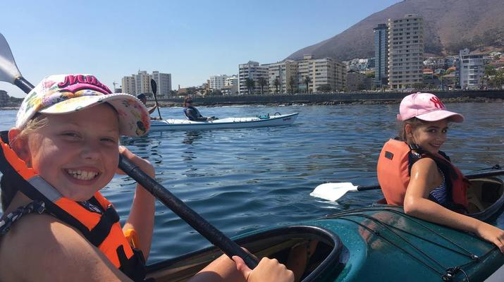 Sea Kayaking-Cape Town-Kayaking excursion in Table Bay, South Africa-5