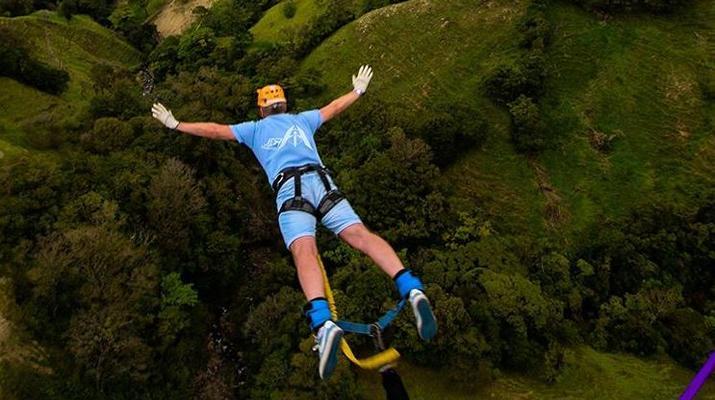 Bungee Jumping-Monteverde-Highest Bungee jumping in Costa Rica (143 metres) in Monteverde-1