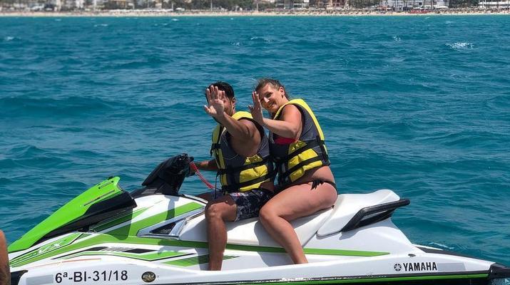 Jet Skiing-Palma de Mallorca-Jet ski circuits from El Arenal, Palma de Mallorca-2