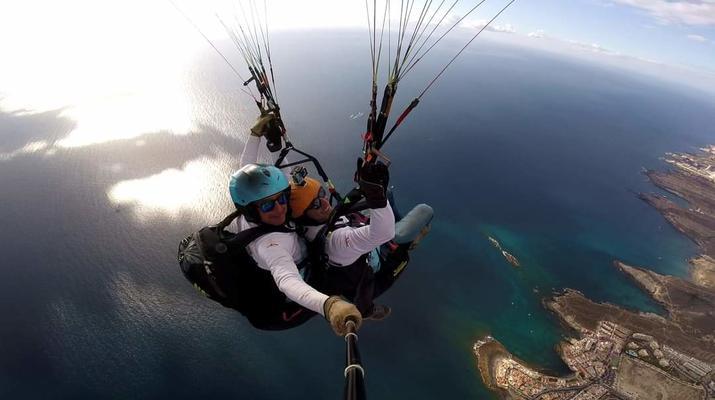 Paragliding-Teide Natural Park, Tenerife-Highest tandem paragliding flight in Europe from Mount Teide, Tenerife-3