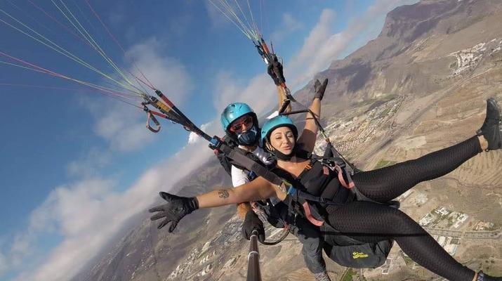 Paragliding-Teide Natural Park, Tenerife-Highest tandem paragliding flight in Europe from Mount Teide, Tenerife-6