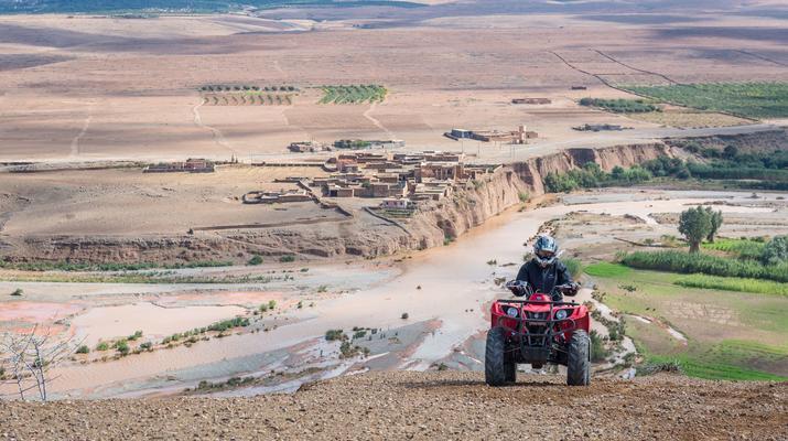 Quad biking-Marrakech-Quad bike excursion at the Agafay desert, near Marrakech-6