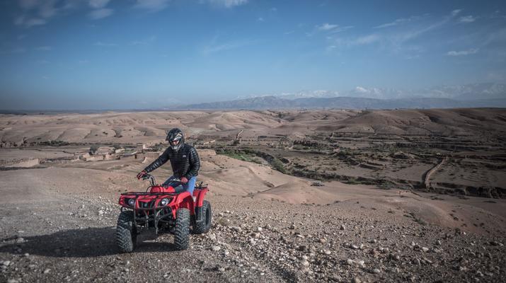 Quad biking-Marrakech-Quad bike excursion at the Agafay desert, near Marrakech-2