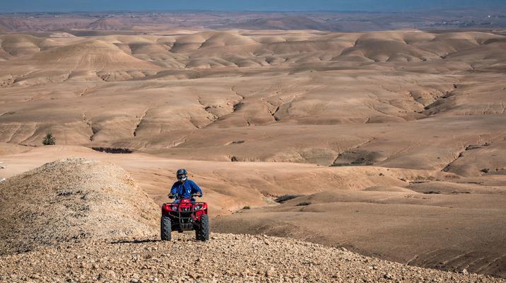 Quad biking-Marrakech-Quad bike excursion at the Agafay desert, near Marrakech-1