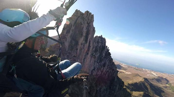 Paragliding-Teide Natural Park, Tenerife-Highest tandem paragliding flight in Europe from Mount Teide, Tenerife-2
