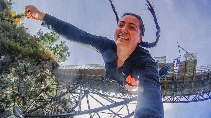 Bungee Jumping-Hanmer Springs-Bungy jumping in Hanmer Springs, New Zealand-2