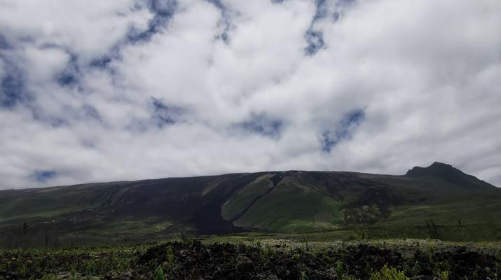 Caving-Piton de la Fournaise-Caving excursion in the 2004 Lava Tube in Reunion Island-5