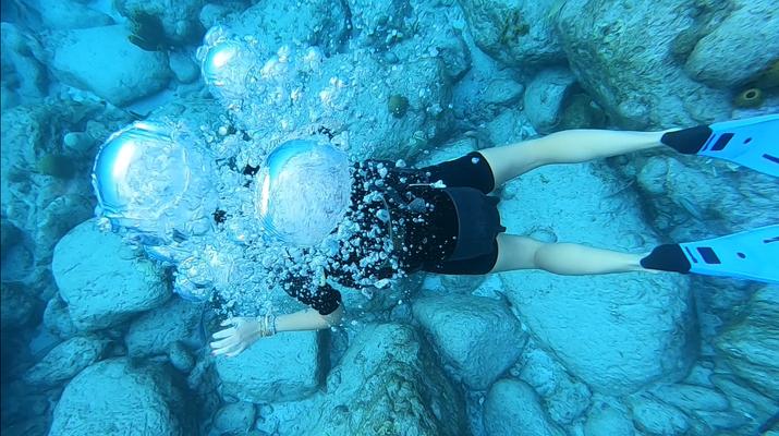 Plongée sous-marine-Réserve Cousteau-Baptême de Plongée dans la Réserve Cousteau en Guadeloupe-2
