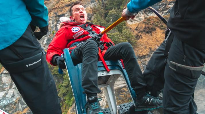 Bungee Jumping-Queenstown-Canyon Swing from 109 metres over Shotover Canyon-9