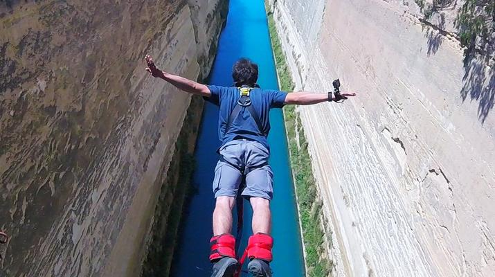 Bungee Jumping-Corinth-Bungee jumping in the Corinth Channel-2