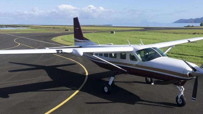 Vols Panoramiques-Bora Bora-Vol panoramique en avion privé au-dessus de Taha'a et croisière depuis Bora Bora-4