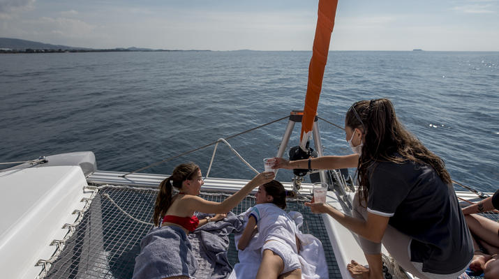 Sailing-Paros-Sailing tour in Paros and surrounding islands-5