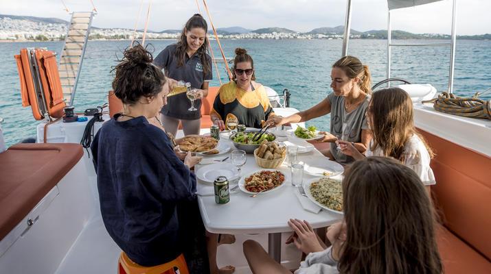 Sailing-Paros-Sailing tour in Paros and surrounding islands-9
