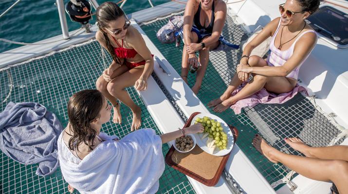 Sailing-Mykonos-Catamaran Sailing Cruise in Mykonos-5