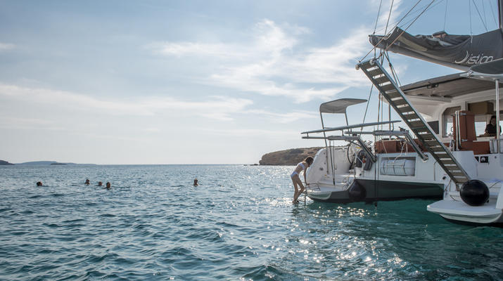 Sailing-Paros-Sailing tour in Paros and surrounding islands-8