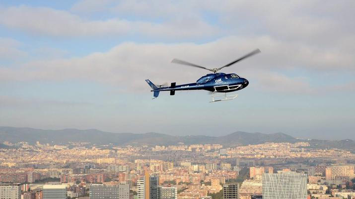 Helicopter tours-Barcelona-Panoramic Helicopter flights over Barcelona-2