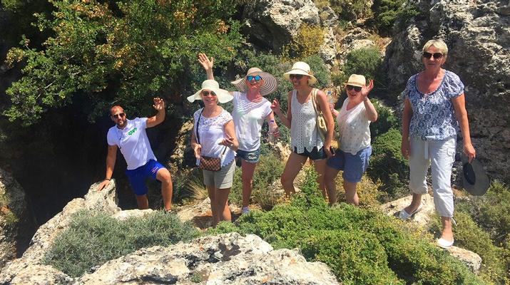 Allrad-Elounda-Ganztägige Jeep-Tour zum Richtis-Wasserfall von Elounda-2