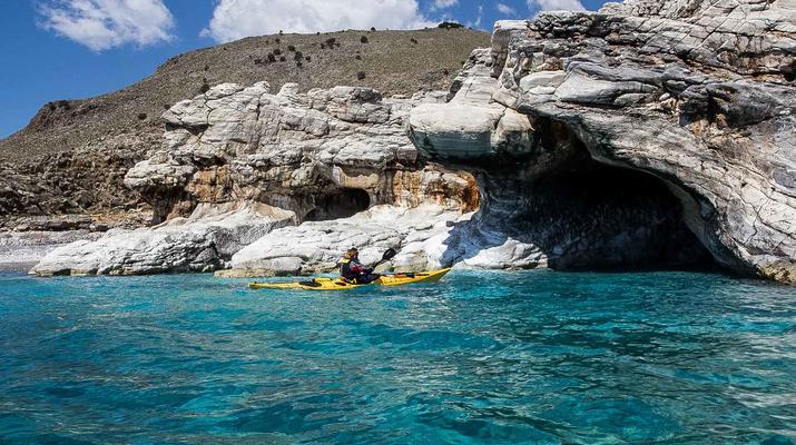 Seekajak-Sfakia-Seekajak-Ausflug vom Strand Loutro bei Sfakia-3