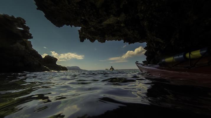 Seekajak-Chania-Seekajak-Ausflug vom Strand von Kalyves bei Chania-4