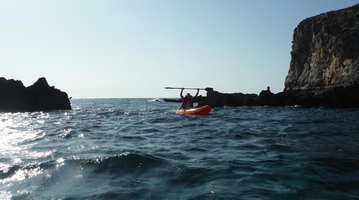 Seekajak-Kissamos-Seekajaktour an der Küste von Phalasarna von Kissamos aus-1