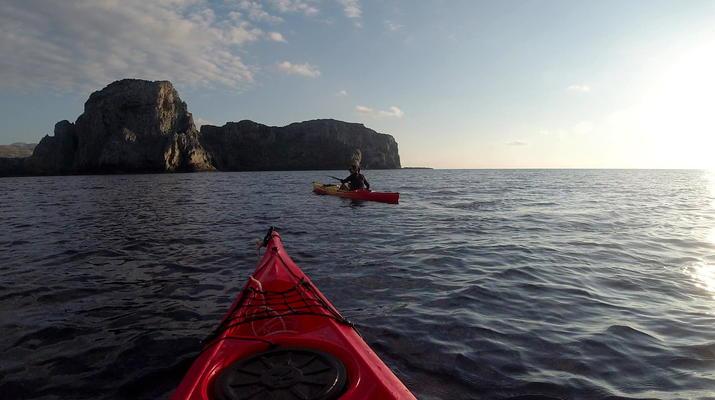 Seekajak-Kissamos-Seekajaktour an der Küste von Phalasarna von Kissamos aus-4