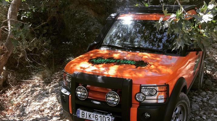 Allrad-Elounda-Ganztägige Jeep-Tour zum Richtis-Wasserfall von Elounda-4