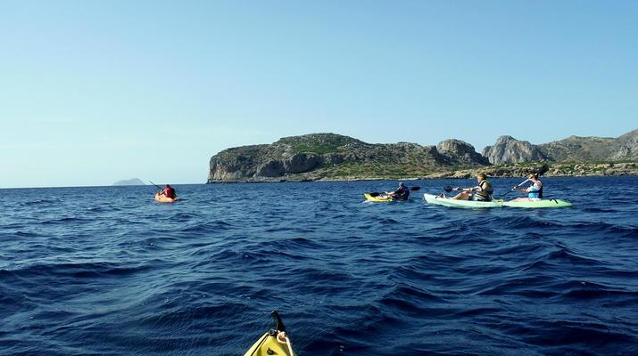 Seekajak-Kissamos-Seekajaktour an der Küste von Phalasarna von Kissamos aus-6