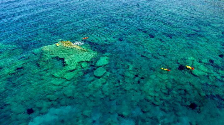Seekajak-Kissamos-Seekajaktour an der Küste von Phalasarna von Kissamos aus-3