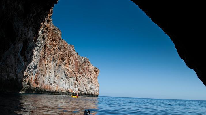 Seekajak-Chania-Seekajak-Ausflug vom Strand von Kalyves bei Chania-3