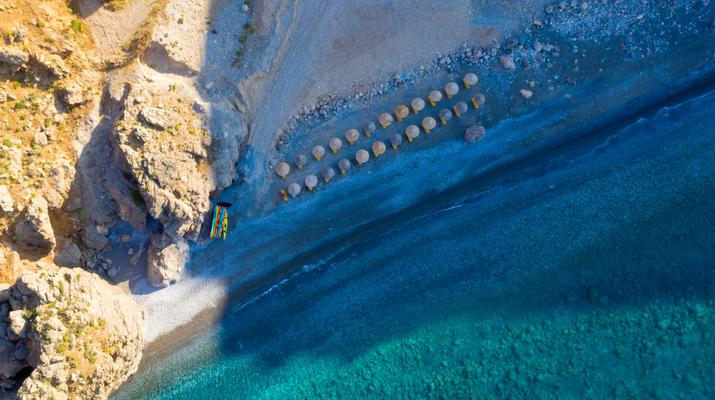 Seekajak-Sfakia-Seekajak-Ausflug vom Strand Loutro bei Sfakia-2