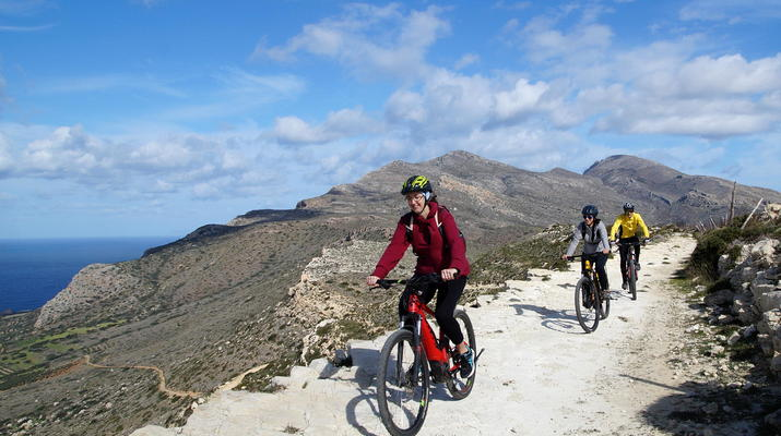 Mountainbike-Kissamos-E-Bike-Tour an die wilde Westküste, von Kissamos nach Sfinari-1
