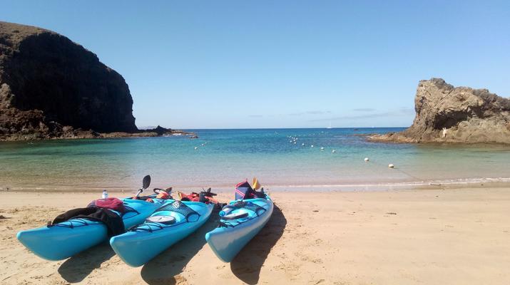 Sea Kayaking-Playa Blanca, Lanzarote-Kayak & Snorkel excursion to Playa Papagayo, Lanzarote-15