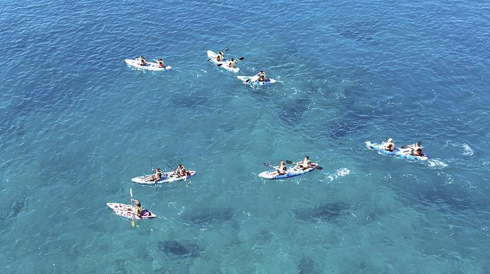 Sea Kayaking-Playa Blanca, Lanzarote-Kayak & Snorkel excursion to Playa Papagayo, Lanzarote-3