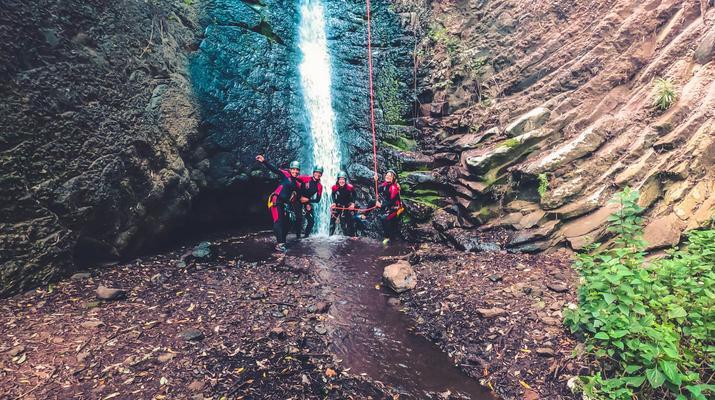 Canyoning-Las Palmas de Gran Canaria-Cernicalos Canyoning excursion near Telde, Gran Canaria-1