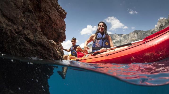 Sea Kayaking-Split-Sea kayaking and snorkeling excursion in Brela from Split-3
