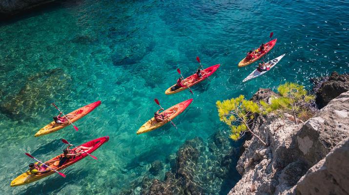 Sea Kayaking-Split-Sea kayaking and snorkeling excursion in Brela from Split-1