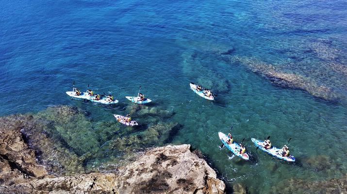 Sea Kayaking-Playa Blanca, Lanzarote-Kayak & Snorkel excursion to Playa Papagayo, Lanzarote-14