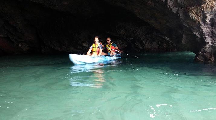 Sea Kayaking-Playa Blanca, Lanzarote-Kayak & Snorkel excursion to Playa Papagayo, Lanzarote-6