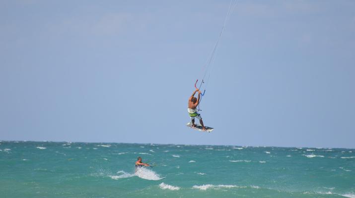Kitesurfing-Maspalomas, Gran Canaria-Kitesurfing lessons in Maspalomas, south of Gran Canaria-1