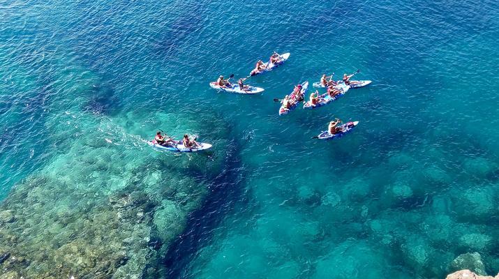 Sea Kayaking-Playa Blanca, Lanzarote-Kayak & Snorkel excursion to Playa Papagayo, Lanzarote-8