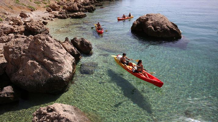 Sea Kayaking-Split-Sea kayaking and snorkeling excursion in Brela from Split-5