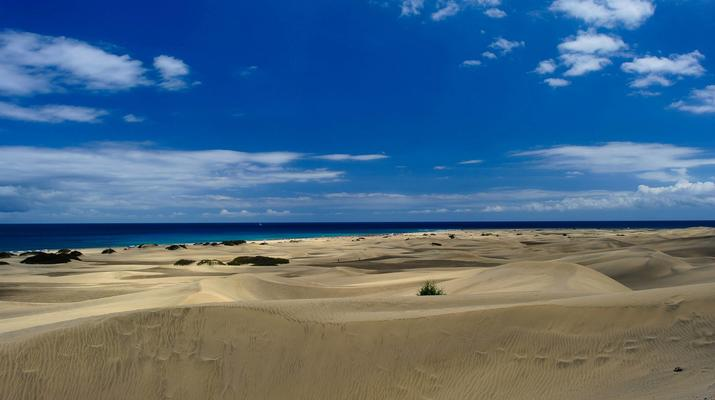 Kitesurfing-Maspalomas, Gran Canaria-Kitesurfing lessons in Maspalomas, south of Gran Canaria-5