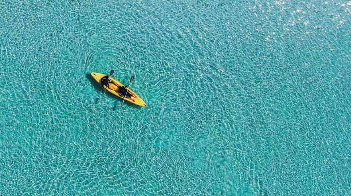 Kayak de mer-Palma, Majorque-Excursion en kayak, plongée en apnée et saut de côte à partir d'Illetas, Majorque-4