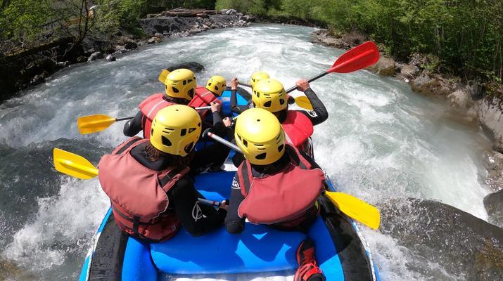 Rafting-Samoëns, Le Grand Massif-Rafting descent of Giffre river in Samoens-5