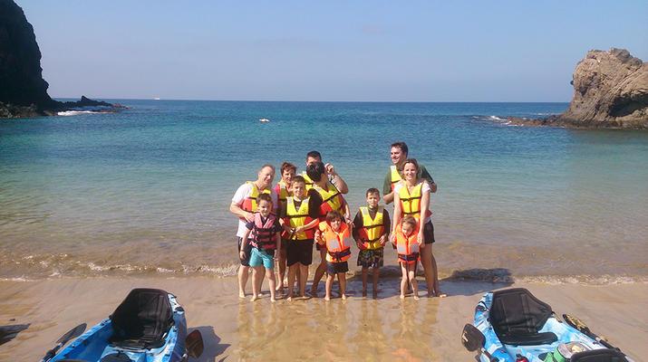 Sea Kayaking-Playa Blanca, Lanzarote-Kayak & Snorkel excursion to Playa Papagayo, Lanzarote-2