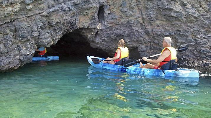Sea Kayaking-Playa Blanca, Lanzarote-Kayak & Snorkel excursion to Playa Papagayo, Lanzarote-4