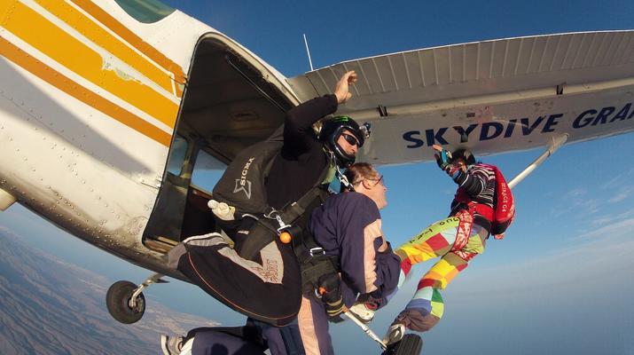 Skydiving-Maspalomas, Gran Canaria-Tandem Skydiving over Maspalomas, Gran Canaria-1